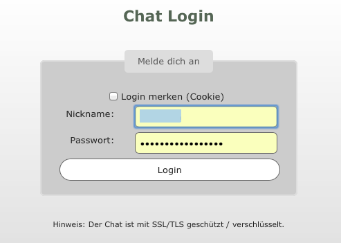 RORE-Chat-Login